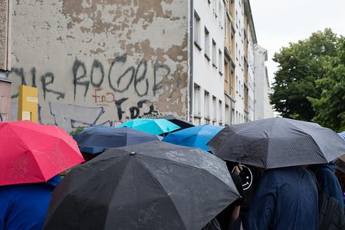Det regnar vid Stasi