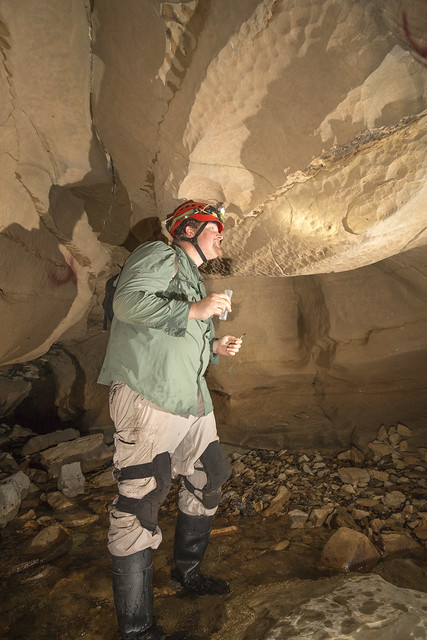Matt Niemiller, Garretts Mill Cave, Overton County, Tennessee