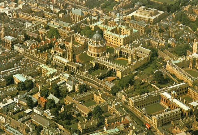 1986 UK // England-Schottland // Oxford (Postkarte)