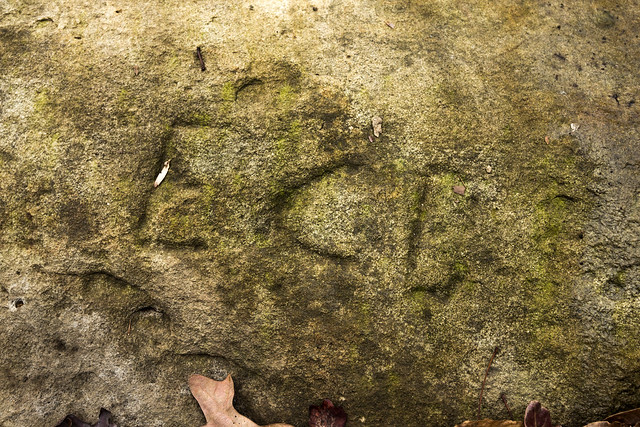 EC?, Historic signature, Pleasant Hill, Cumberland County, Tennessee
