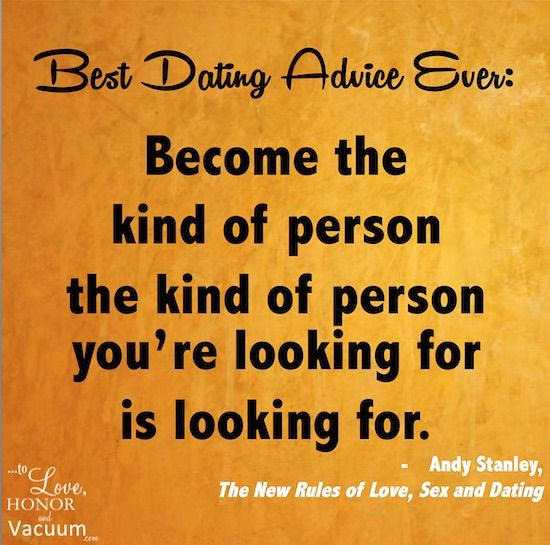 best dating advice