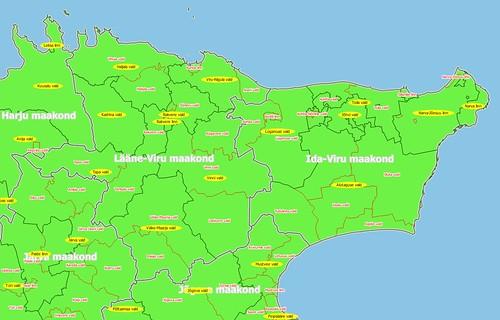 Lääne- ja Ida-virumaa (Virumaa)