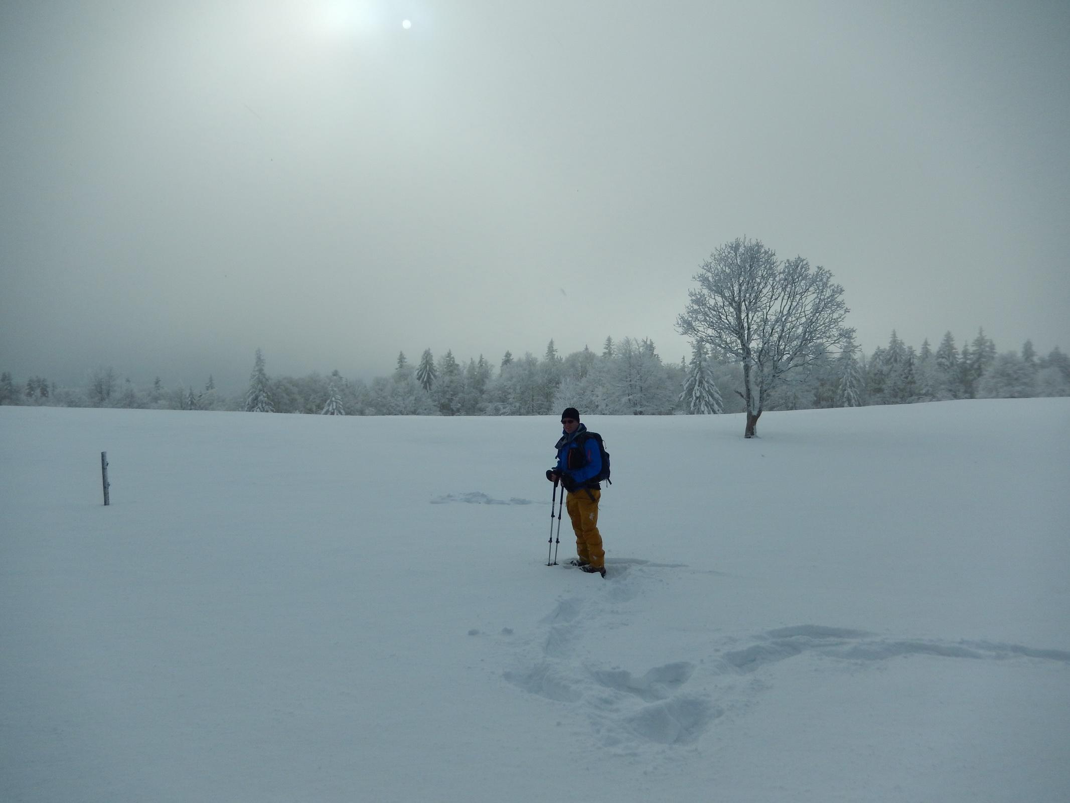 Winterausbildung Balmberg / Röti 02.12.2017