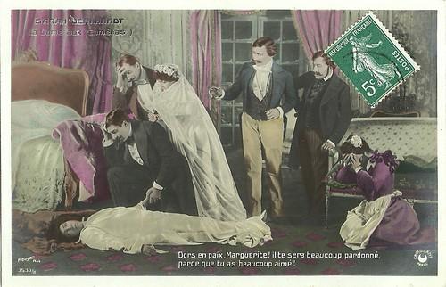 Sarah Bernhardt in La dame aux camélias (1912)