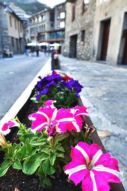 Calle de Ordino. Andorra.