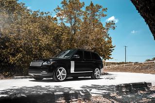 Range Rover Hse Velgen Wheels Classic5 Matte Silver 22 Flickr