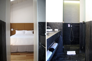 Can Faustino_menorca_hoteles chulos_arquitectura_decoración_mármol negro_habitación | by Libe_reharq