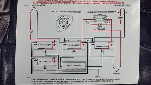 [NRIO_4796]   Help with Battery Connections, Please | 2016 Ranger Boat Wiring Diagram |  | BBC Boards