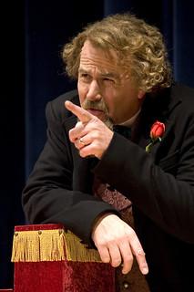 Fri, 12/05/2008 - 20:15 - Mike Randall portraying Charles Dickens