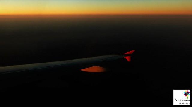 Night flight...