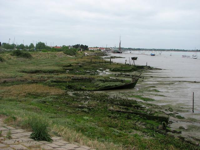 Rotting boats at Heybridge