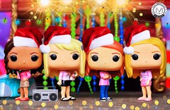 Please welcome on the stage... The Santa?s Helpers doing ?Jingle Bell Rock?