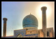 Samarqand UZ -  Gur-e-Amir Mausoleum 08