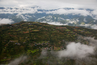 helicopter to Lukla 05   by Valentin Groza