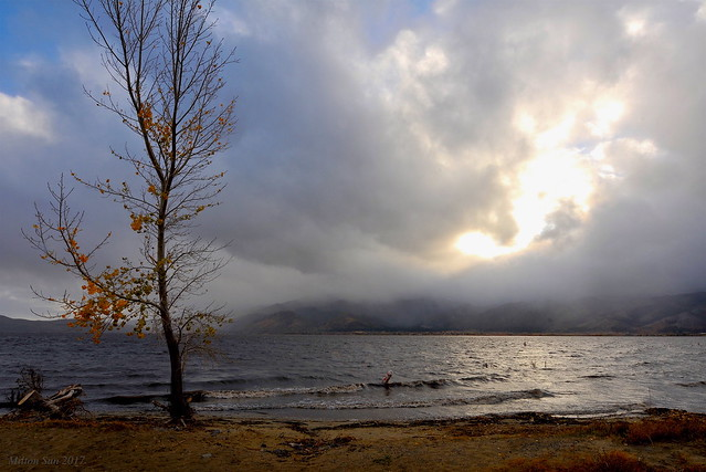 Late Autumn Washoe Lake, Nevada
