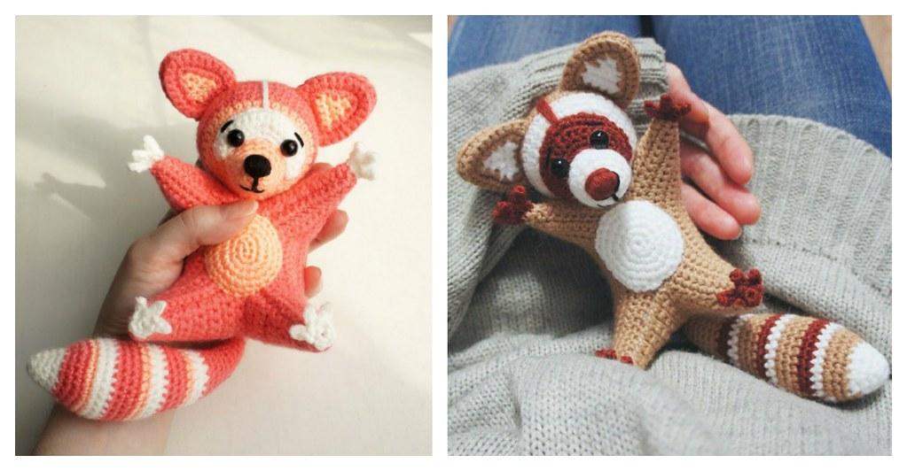 Free Toronto Raccoon Amigurumi Crochet Pattern - Ollie + Holly ... | 532x1023
