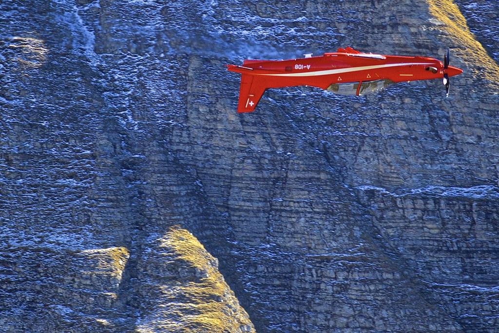 Axalp: SwissAirForce Pilatus PC-21 A-108