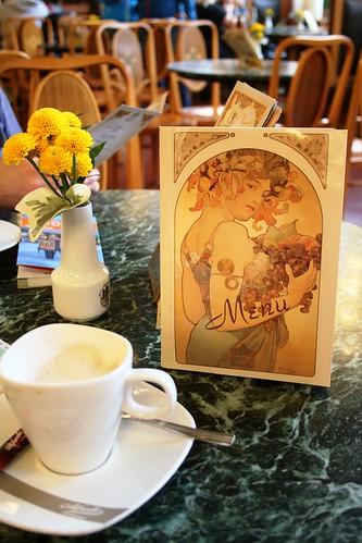 Obecni Dum Art Nouveau Cafe Menu | by rob.mcgonigle