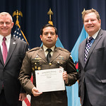 Fri, 10/20/2017 - 14:26 - On October 20, 2017, the William J. Perry Center for Hemispheric Defense Studies hosted a graduation ceremony for its Strategy and Defense Policy course. The ceremony took place in Lincoln Hall at Fort McNair in Washington, DC.