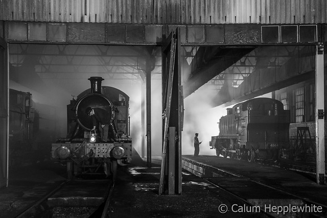 Late night on shed