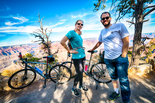 Biking to Hermit's Rest in Grand Canyon National Park | by Vironevaeh