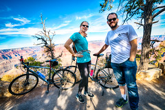 Biking to Hermit's Rest in Grand Canyon National Park