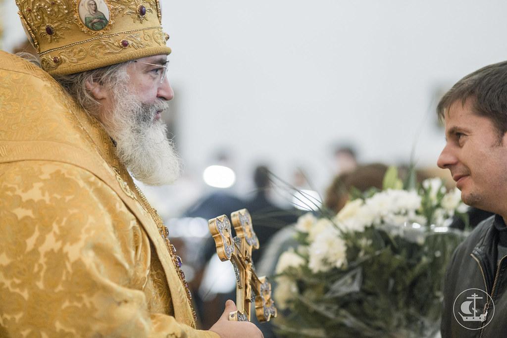 11 ноября 2017, Литургия в Тихвинском Богородичном Успенском монастыре / 11 November 2017, Divine Liturgy in the Tikhvin Assumption Monastery