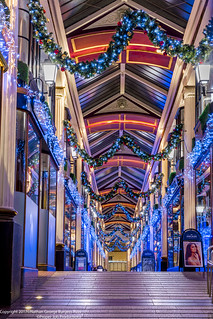 St James Arcade Christmas Lights