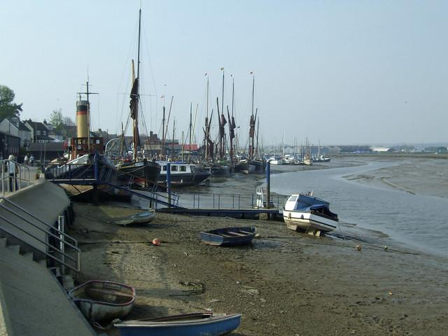 The quay at Maldon