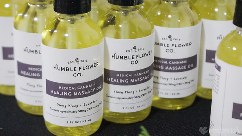 Humble Flower Co. - Healing Massage Oil | by weedporndaily