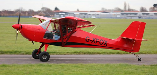 Eurofox 912 (S) G-XFOX Lee on Solent Airfield 2017 | by SupaSmokey