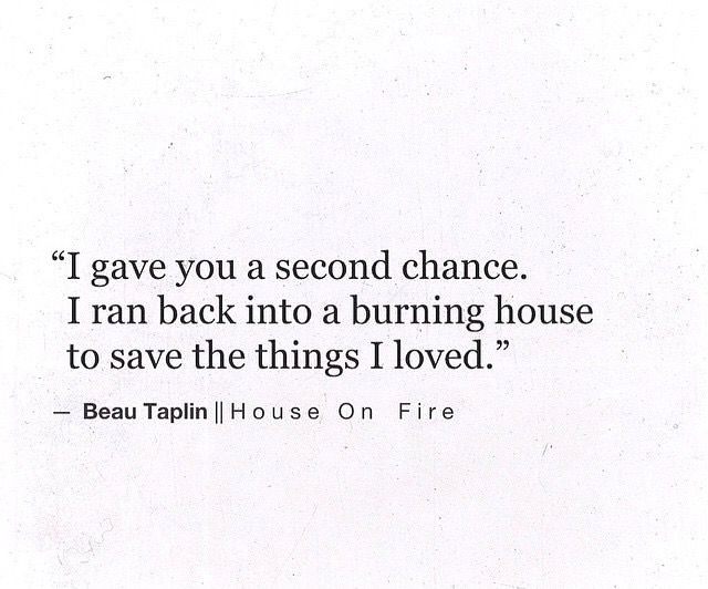 Sad Love Quotes : I never got a second chance, I loved her ...