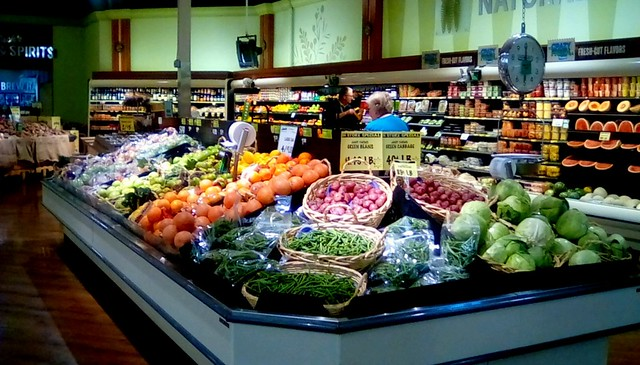Produce department at Jack's Fresh Market!