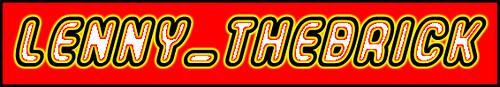 Logo Lenny_thebrick   by lenny_thebrick
