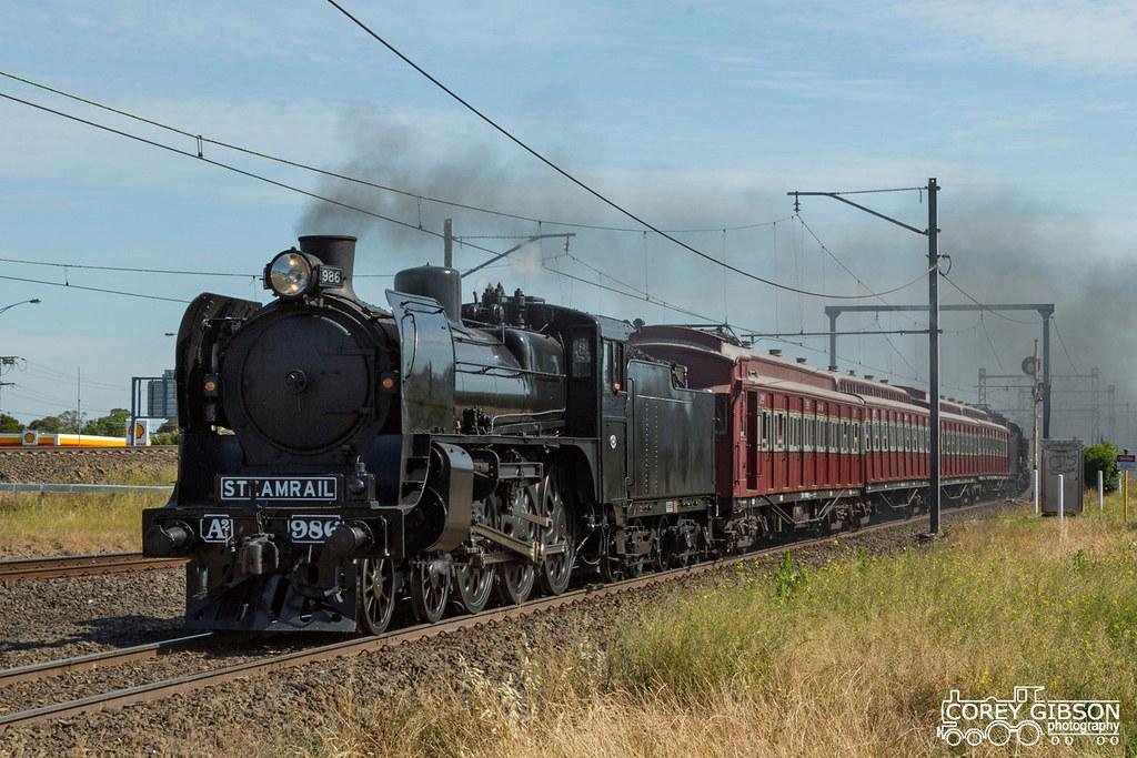 Steamrail Essendon Steam Shuttles by Corey Gibson