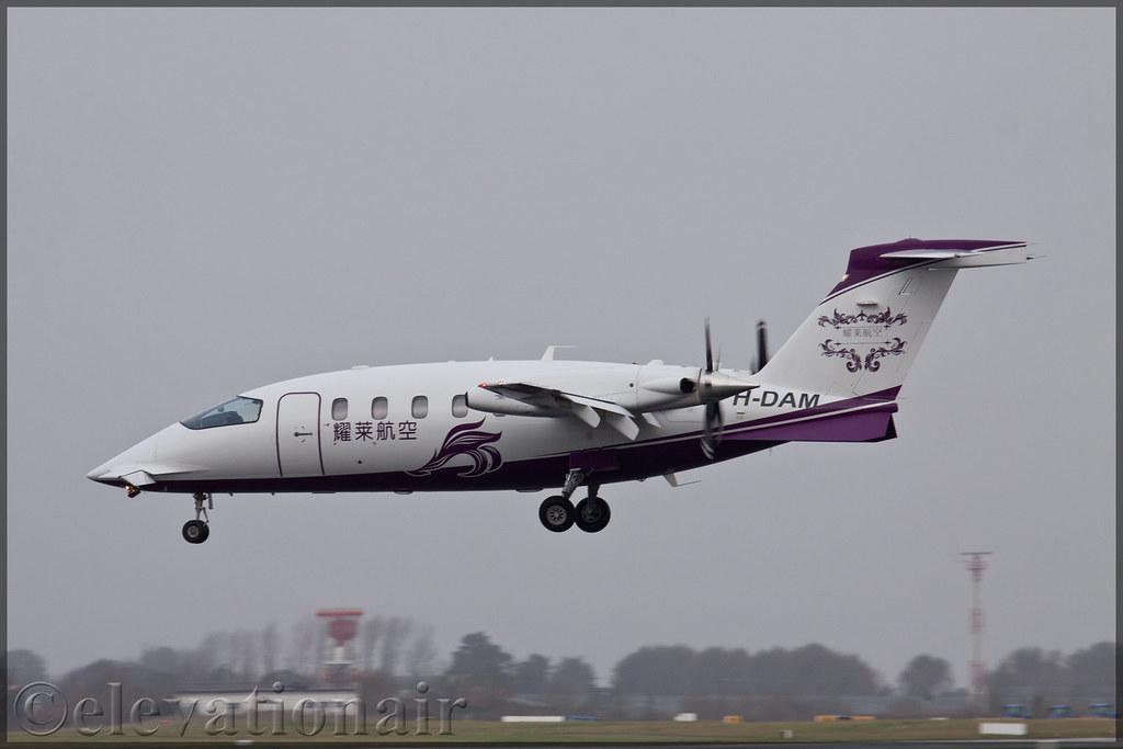 PH-DAM Piggio P-180 Avanti II Jet Netherlands