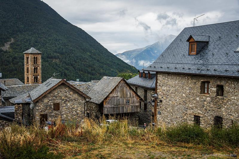 Casas de la parte alta de Taüll