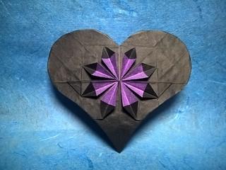 Flower in a Heart (A. Lukyanov)   by Helyades