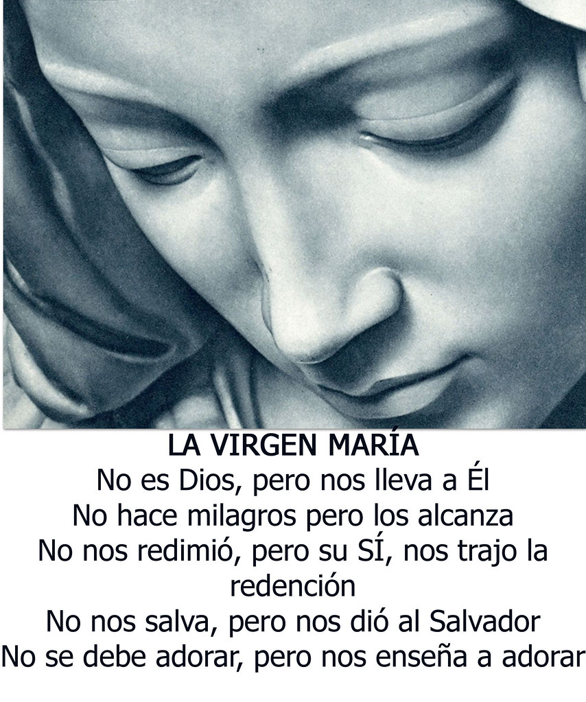 Virgen Maria Frase Verónica Cruz Flickr