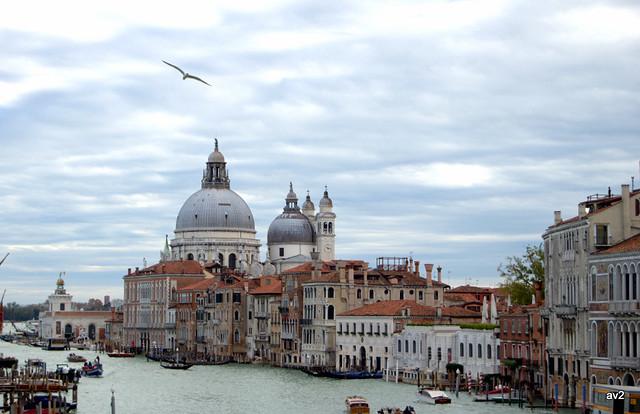 Vuelo sobre Venecia.