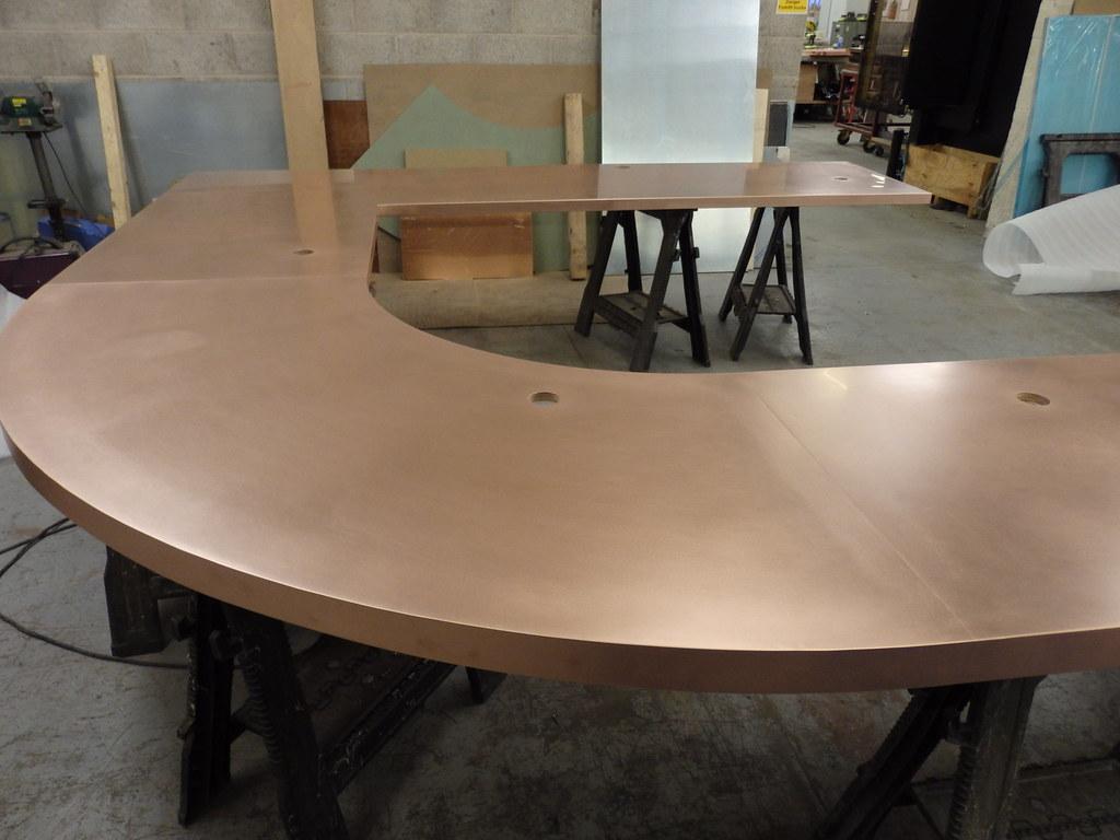 169 - Large Curved Copper Bar Top   john rutter   Flickr