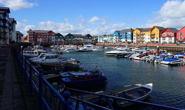 New Marina at 'the Point', Exmouth