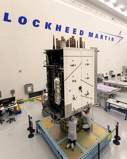 GPS III SV03 Fully Integrated | by Lockheed Martin