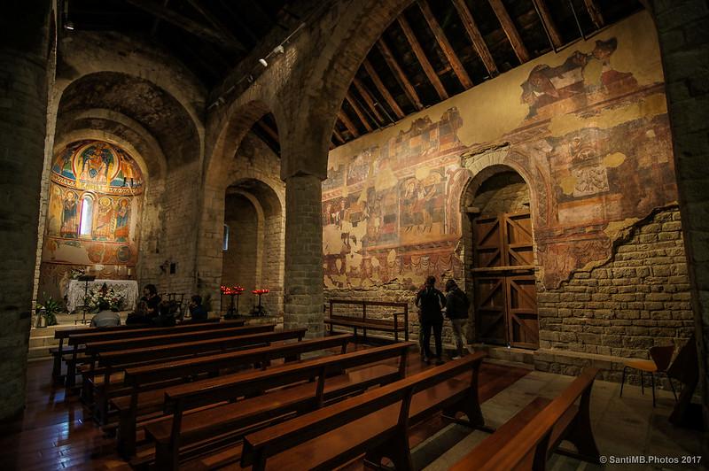 Interior de Santa Maria de Taüll