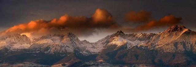 Sunset panorama