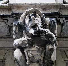 Food Gargoyles - Laughing Jester Sidewalk Level 2882