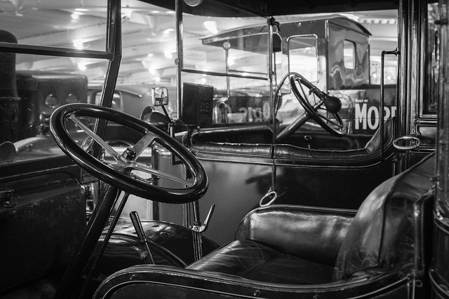 Driving Seat Vintage Style