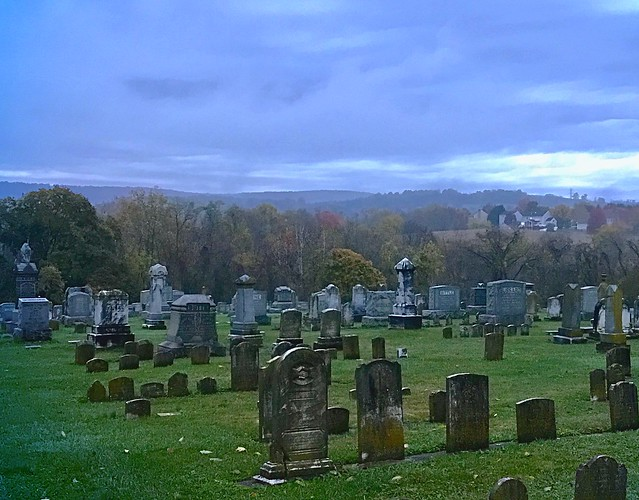 St. Paul's Lutheran Cemetery, Myersville, Maryland, November 2017