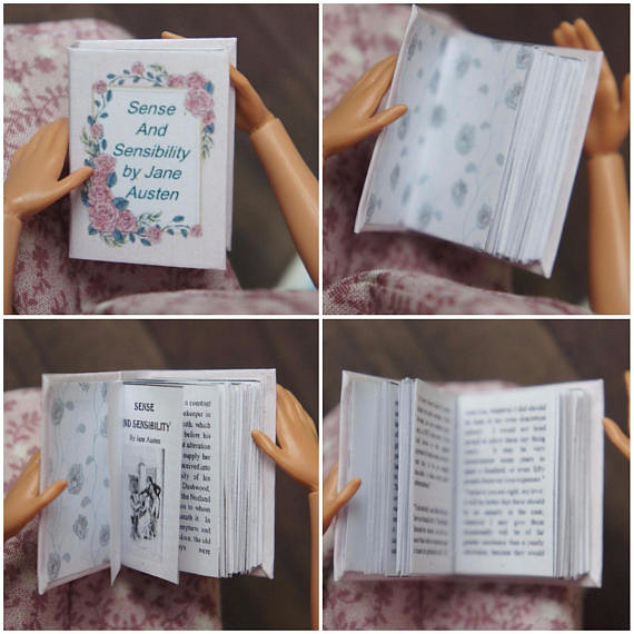 Miniature Books - Jane Austen Collection | Our book layouts