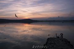 Un tramonto preso al volo